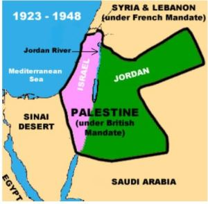 empire otoman palestine 1923